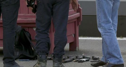 Chargeurs retrouvés sur l'homme ayant ouvert le feu dans le Thalys